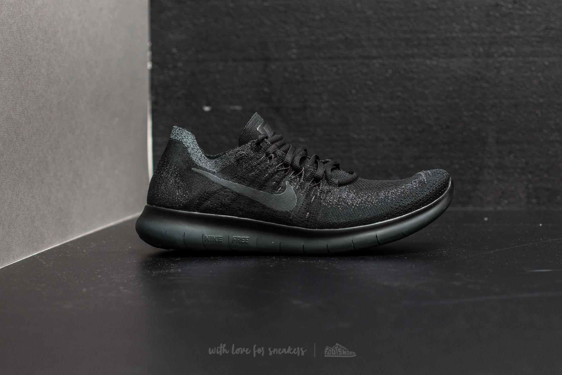 premium selection 04f6d 16459 Nike Free Run Flyknit 2017 Black  Anthracite-anthracite in Black for ...