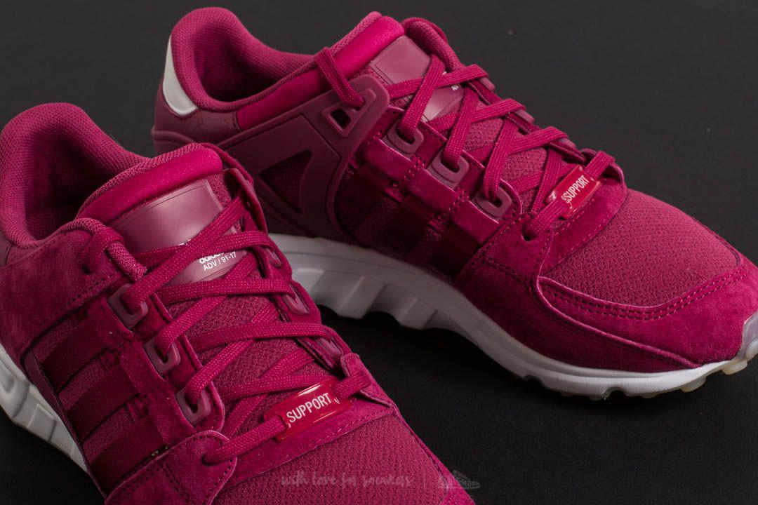 Lyst - adidas Originals Adidas Eqt Support Rf W Mystery Ruby ... 75fdba29b