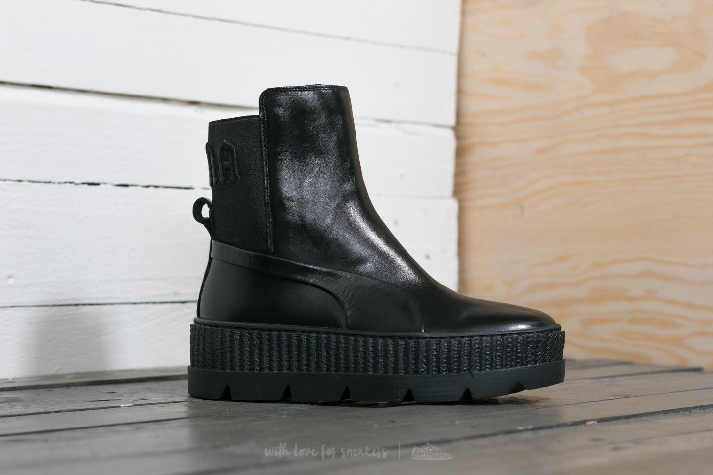 purchase cheap d86fb abf5c Footshop Puma Fenty X Rihanna Chelsea Sneaker Boot Wn ́s Puma Black