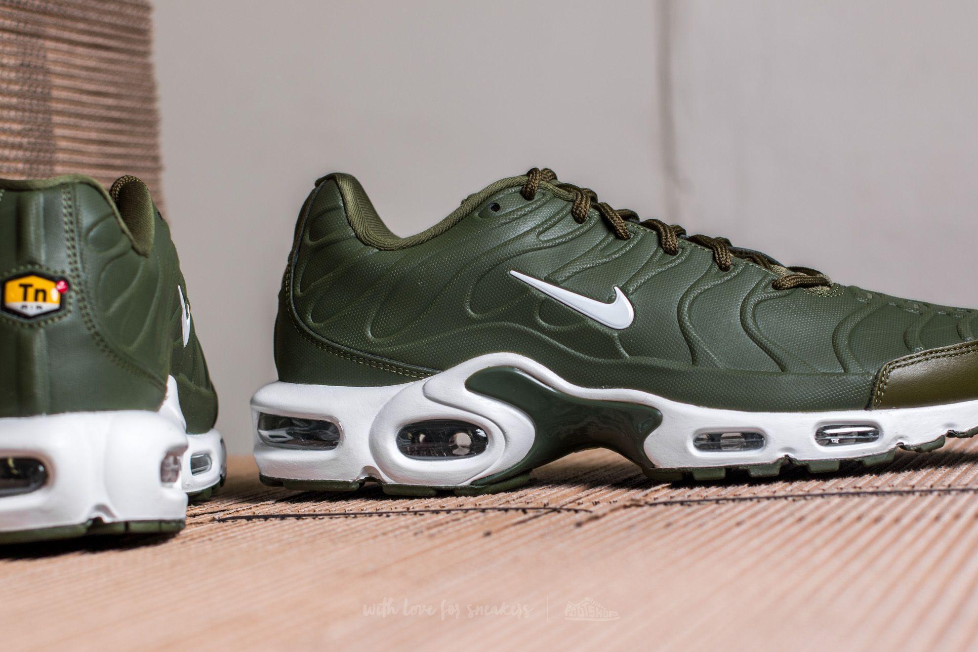 be5a9965174b Lyst - Nike Air Max Plus Vt Legion Green  White in Green for Men