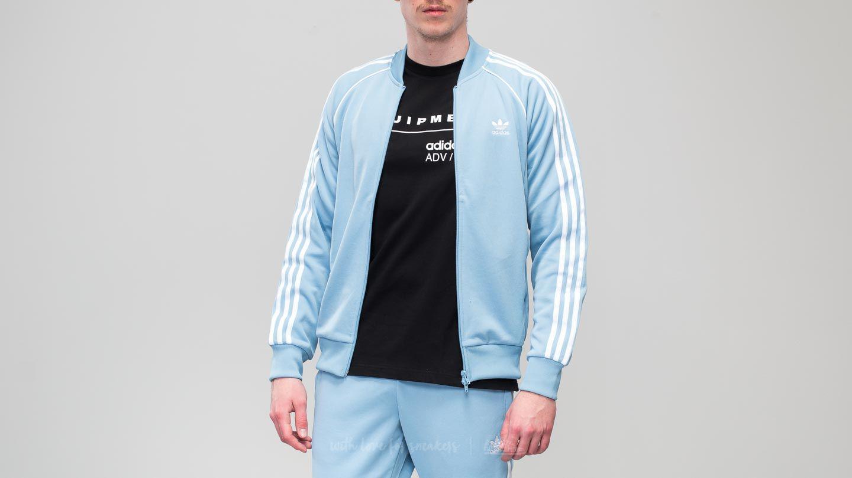 Adidas Superstar Track Jacket Ash Blue