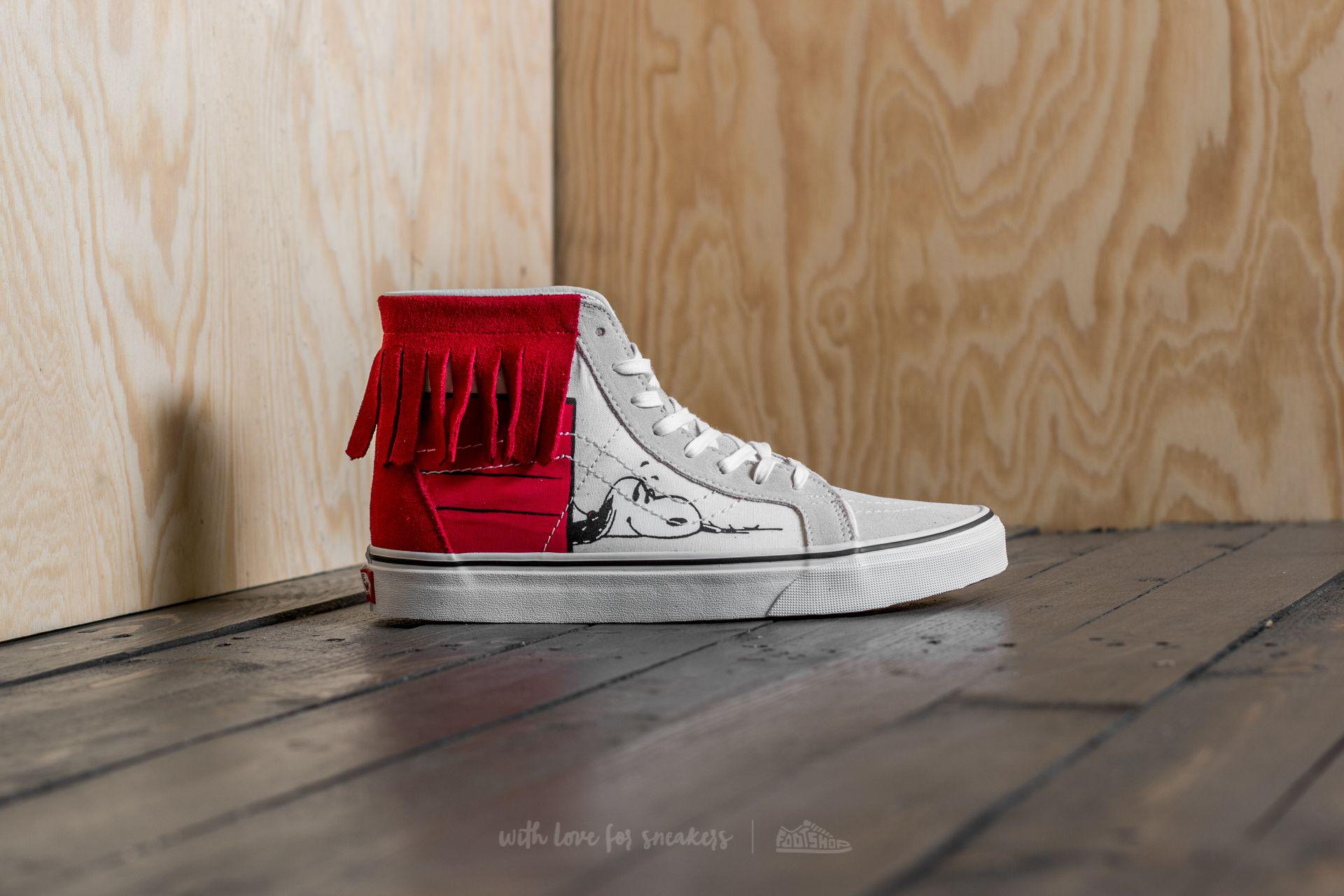 6030cb35ef Lyst - Vans X Peanuts Sk8-hi Moc Dog House  Bone for Men