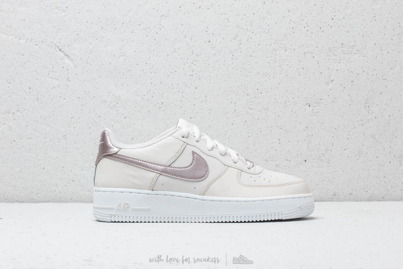 Nike Air Force 1 (GS) Phantom Metallic Red Bronze White
