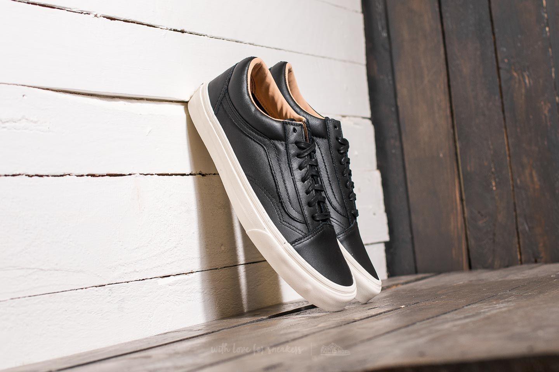 6eb15fd970 Lyst - Vans Old Skool (lux Leather) Black  Porcini in Black for Men