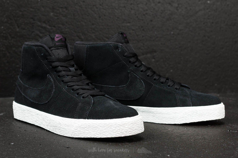 8dbaa5102a83d Nike Sb Zoom Blazer Mid Decon Black/ Black-pro Purple for men