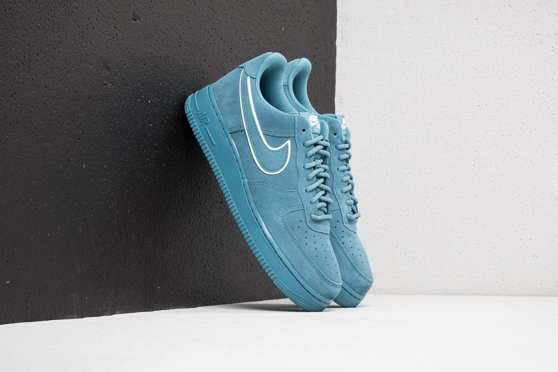 meilleur site web 3d71a e7e94 Nike Blue Air Force 1 ́07 Lv8 Suede Noise Aqua/ Noise Aqua for men