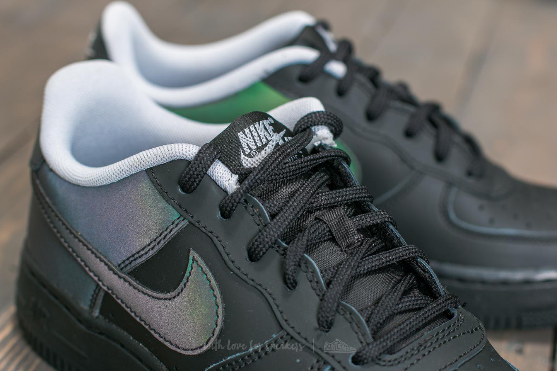 84b73160b107 Lyst - Nike Air Force 1 Lv8 (gs) Black  Black  Wolf Grey in Black ...