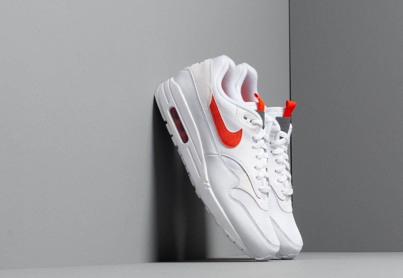 Nike Air Max 1 Se White/ Team Orange for Men - Lyst