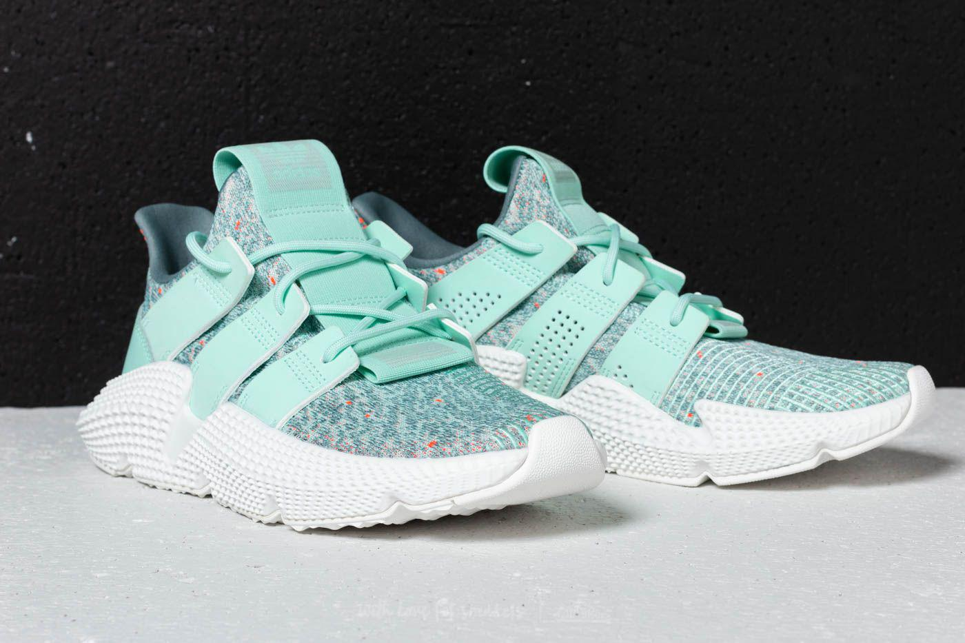 adidas Originals PROPHERE - Trainers - clear mint/solar red 9HEO2jkH