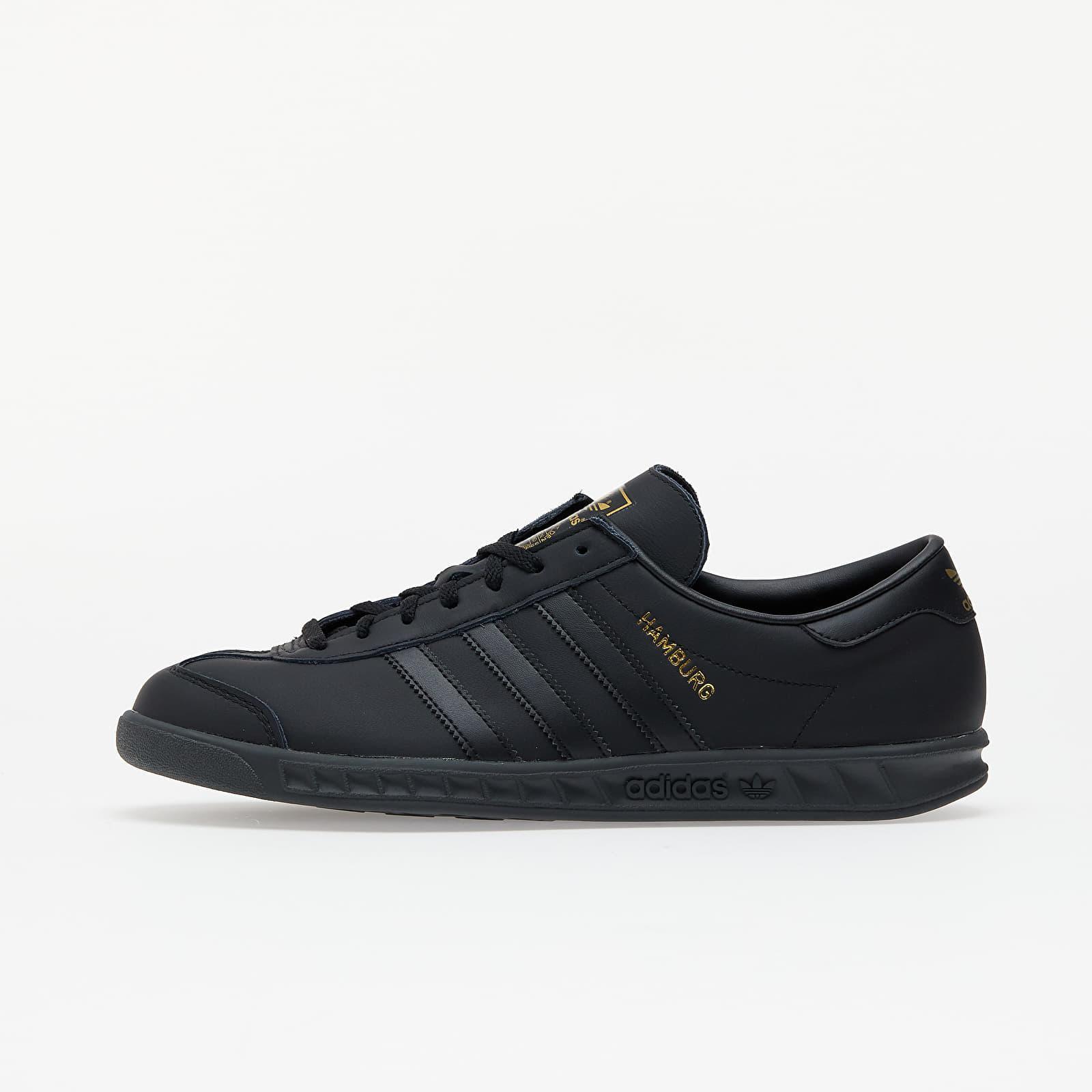 adidas Originals Adidas Hamburg Core Black/ Core Black/ Gold Met ...