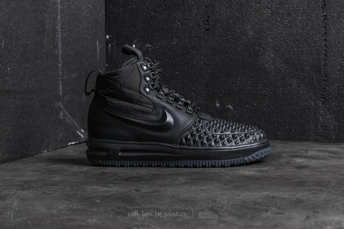 low cost 4f2cb 0333a Nike Lunar Force 1 Duckboot ́17 Black  Black-anthracite in Black for ...