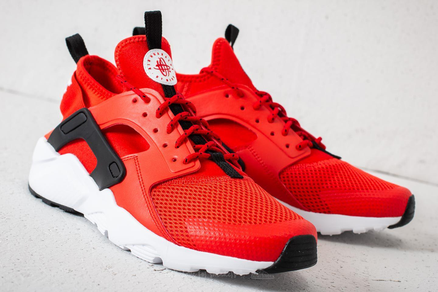 a38c4f8aef7bf Lyst - Nike Air Huarache Run Ultra Gs Habanero Red  White-white ...