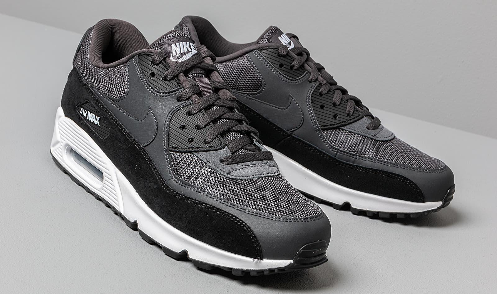 Nike Air Max 90 Essential Anthracite/ White-black in Gray for Men ...