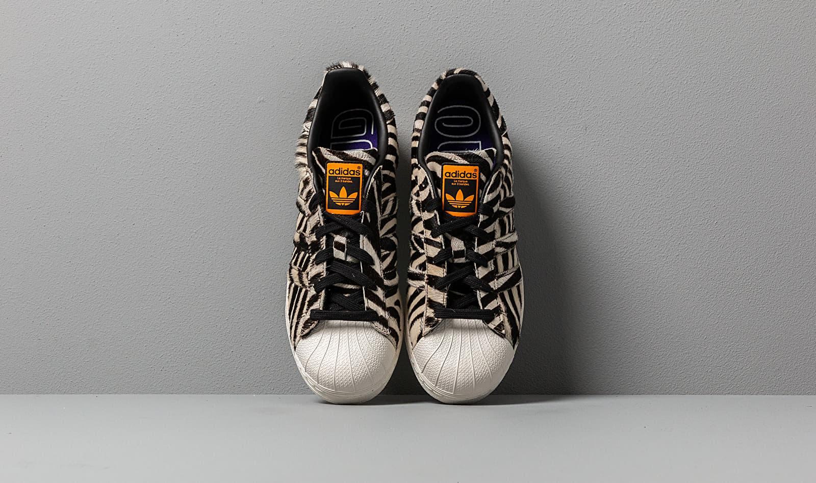 best website d9c8c 5843e adidas Originals Adidas Superstar W Core Black  Off White  Core Purple in  Black - Lyst