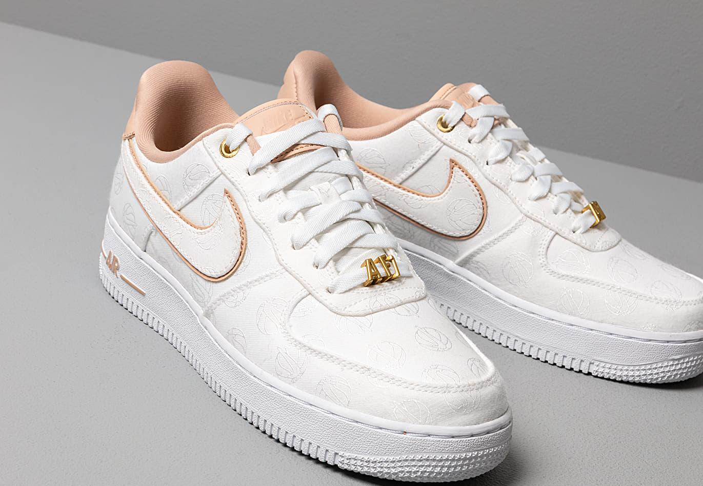 Wmns Air Force 1 '07 Lx White/ Bio Beige-white-metallic Gold