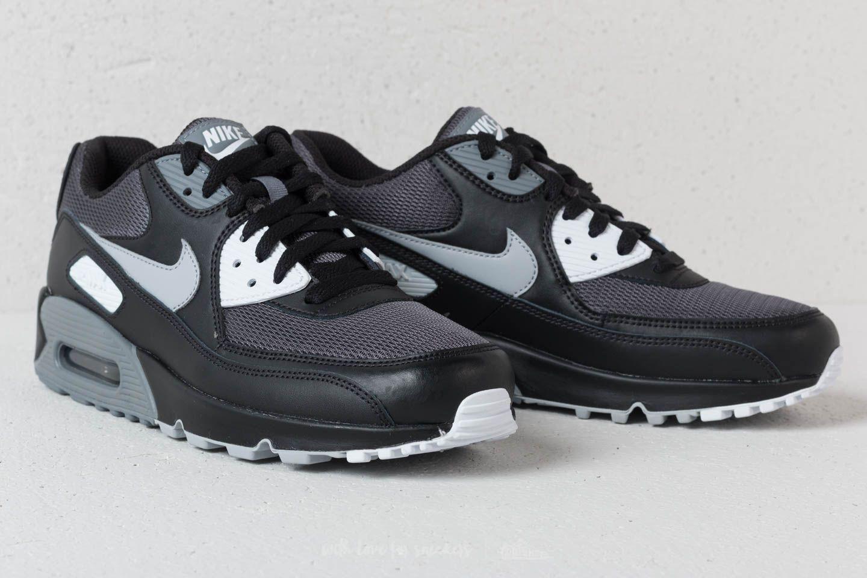 nike air max 90 grey black