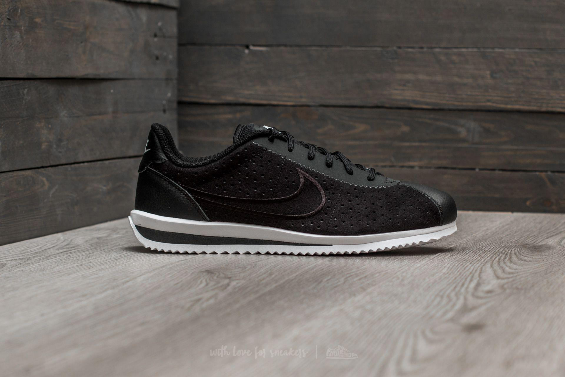 best authentic new photos 100% genuine Cortez Ultra Moire 2 Black/ Black-white