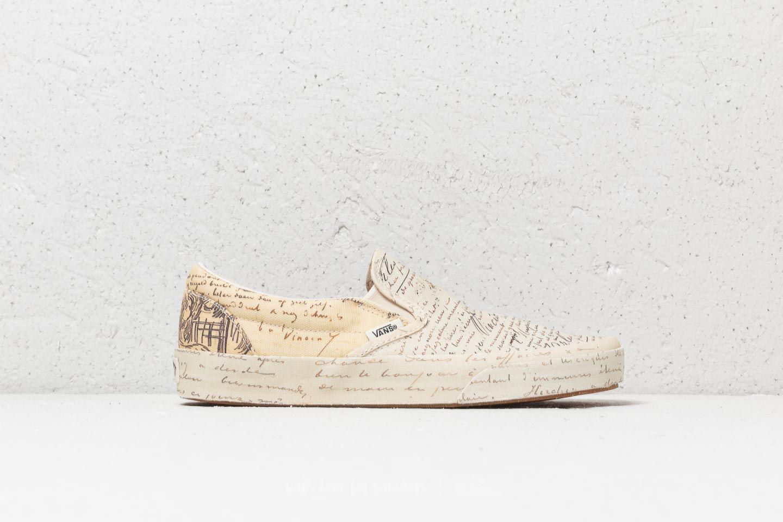 1a7d6dfae29 Lyst - Vans Classic Slip-on (vincent Van Gogh) Letters for Men