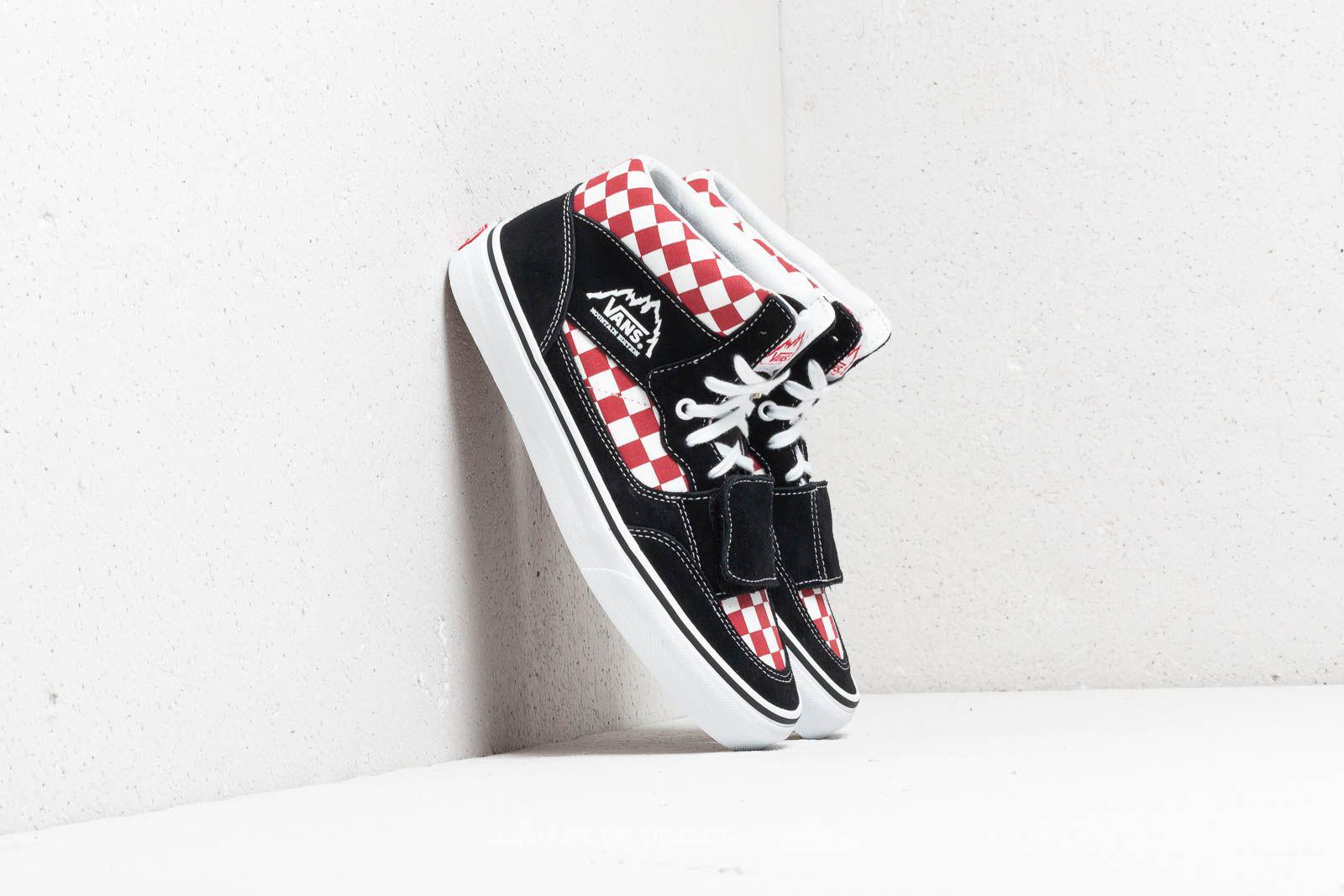 b277848d93 Lyst - Vans Mountain Edition (checkerboard) Black  Red for Men