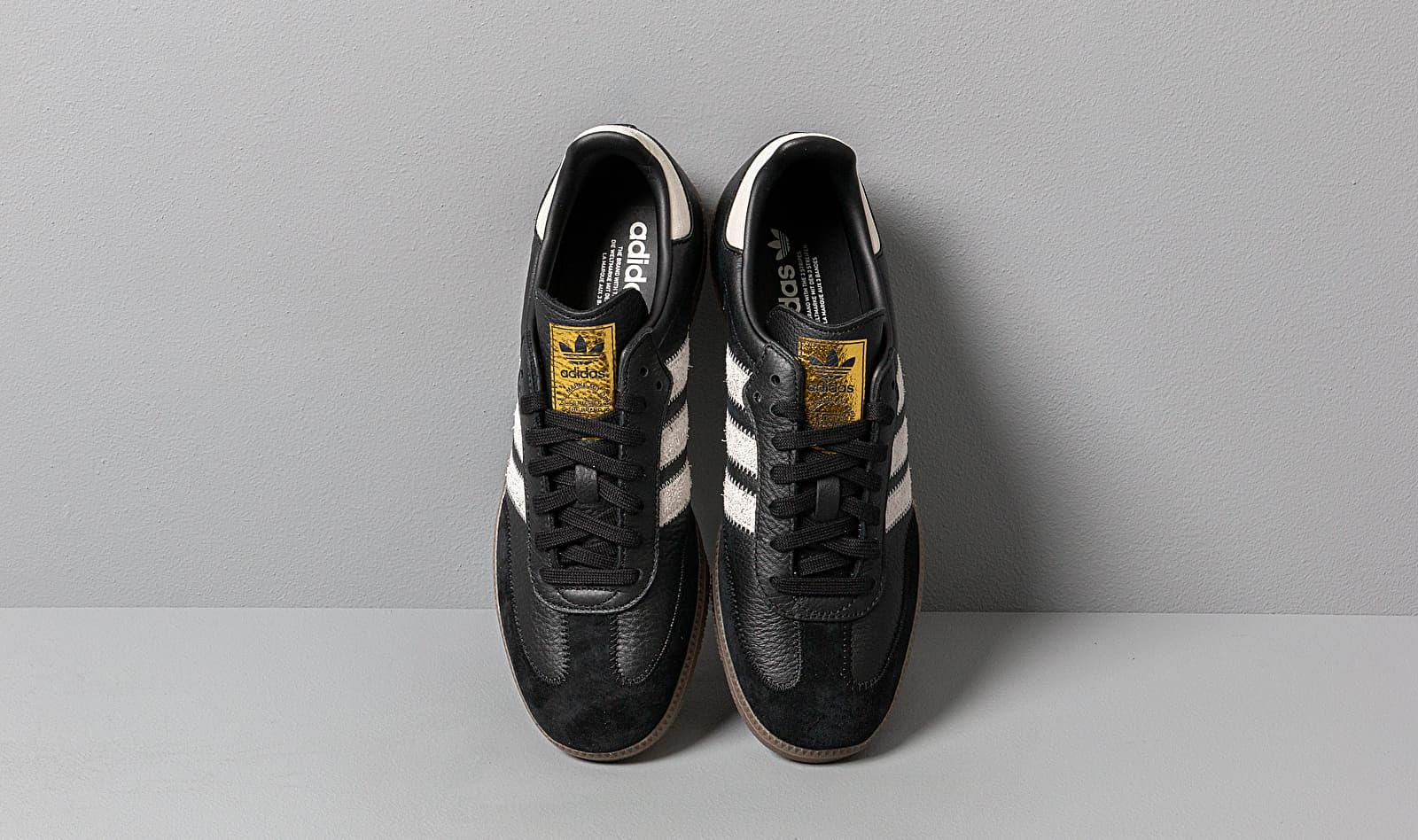 Indulgente Antorchas Forma del barco  adidas Originals Adidas Samba Og Ft Core Black/ Raw White/ Gold Metalic for  Men - Lyst