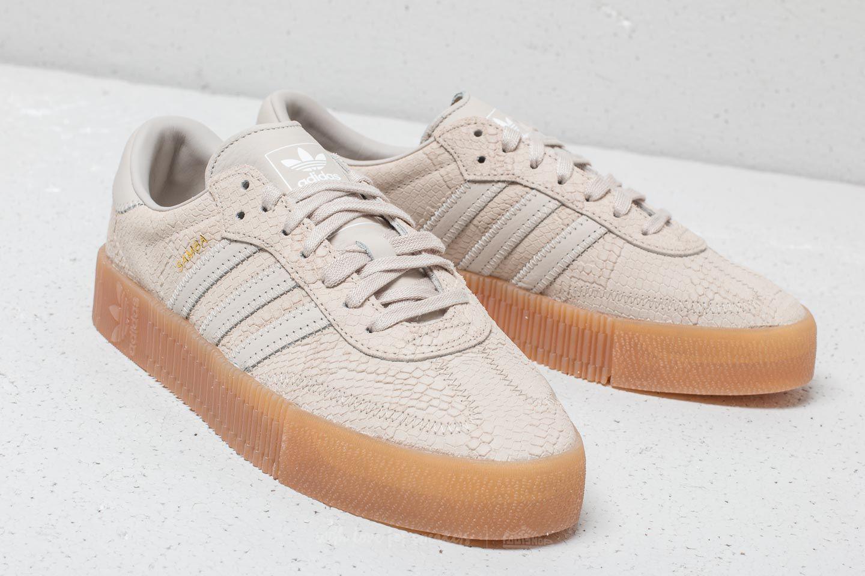 adidas Originals Womens Sambarose Clear Brown