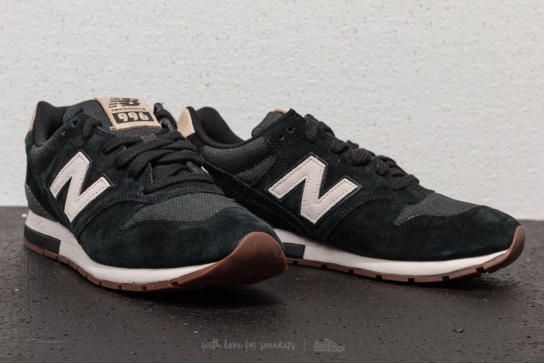 new balance black 996