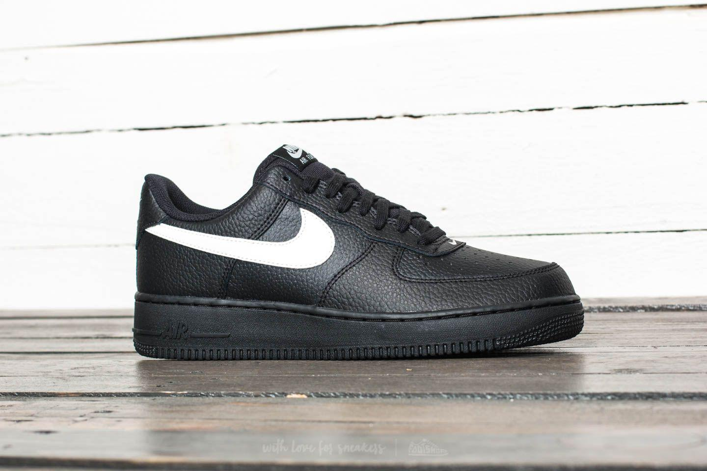 on sale 59e0c fb305 Nike Air Force 1  07 Black  Sail in Black for Men - Lyst