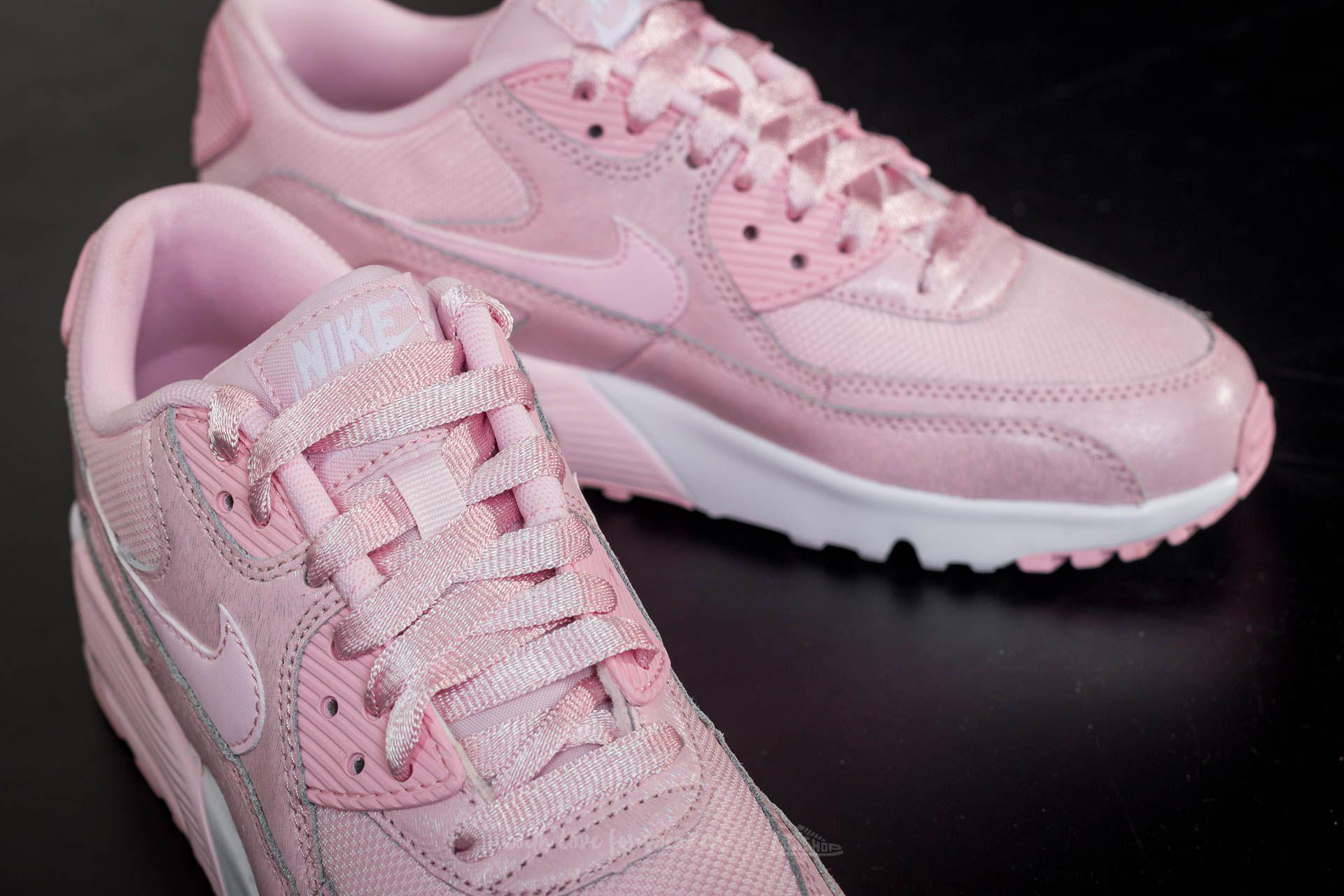 Nike Air Max 90 SE Mesh (GS) Prism Pink Prism Pink White