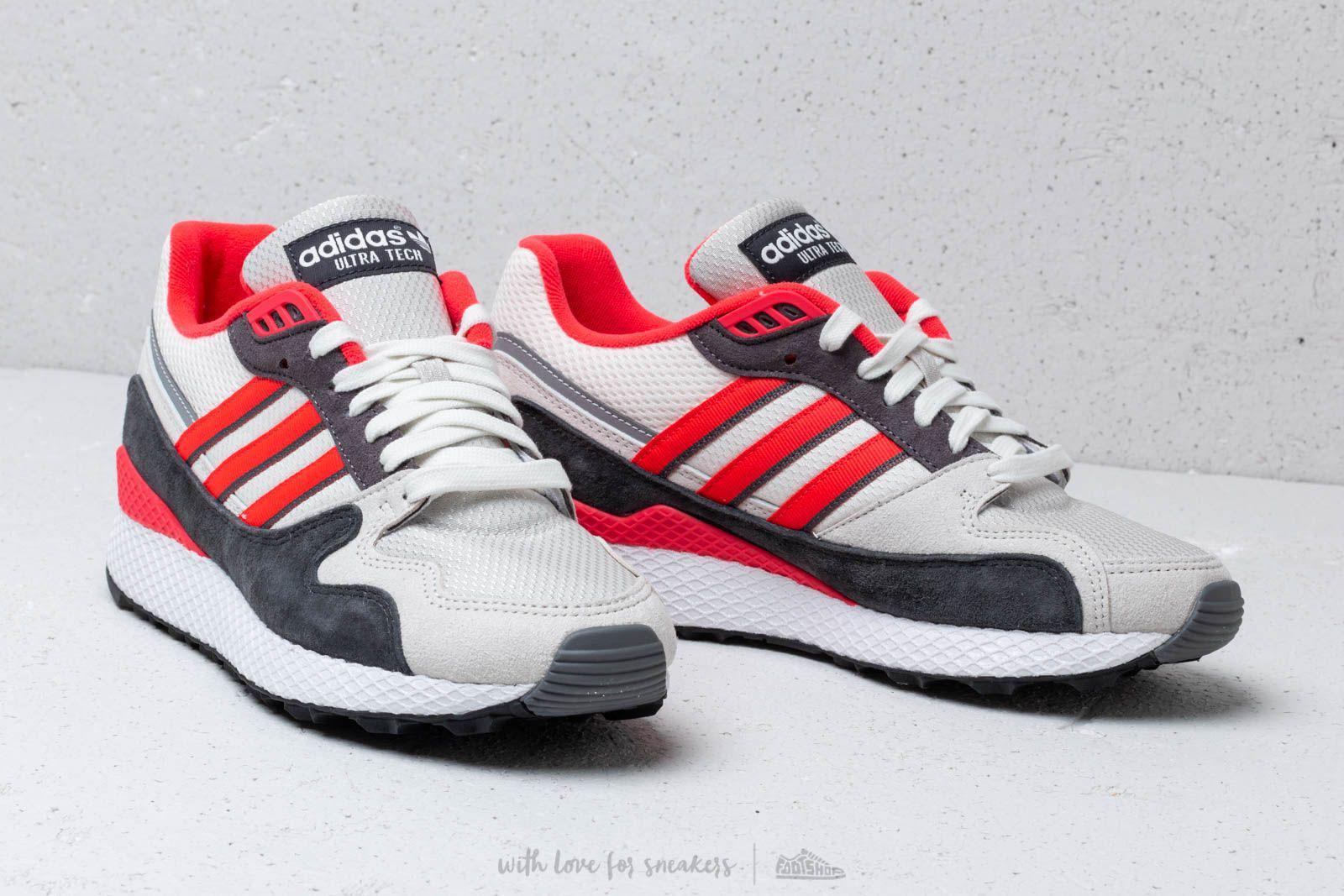 quite nice 53b42 6648e Lyst - adidas Originals Adidas Ultra Tech Raw White Shock Re