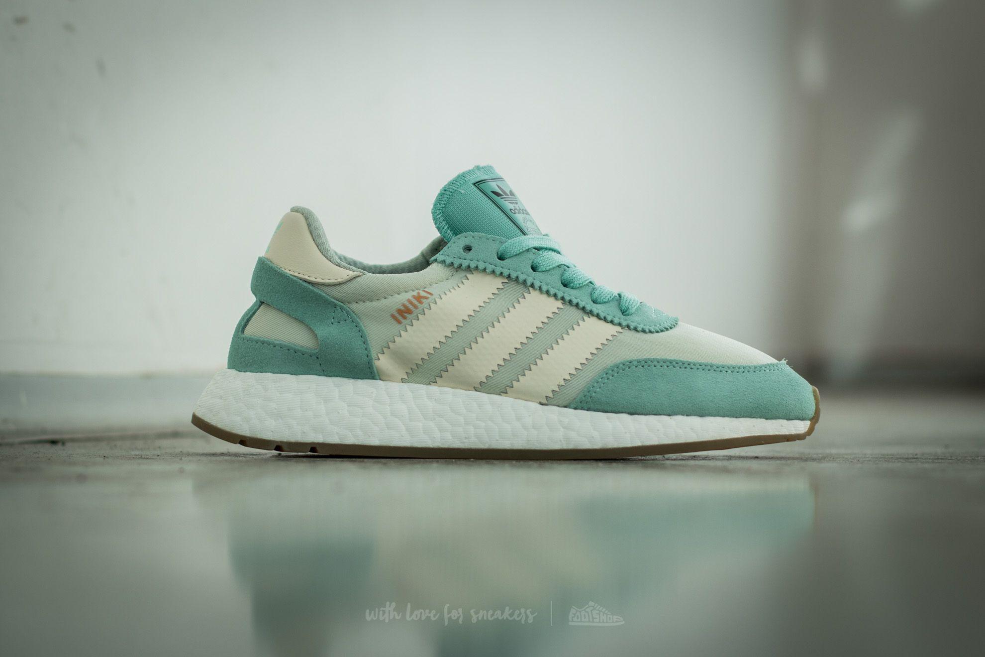 Adidas Iniki Runner Wmn easy greencream whitelinen green