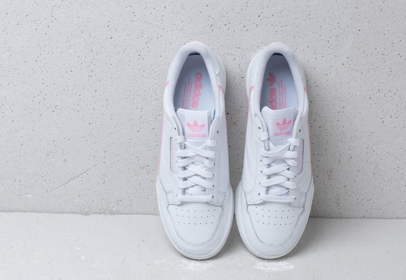great quality huge discount great quality Adidas Continental 80 W Ftw White/ True Pink/ Clear Pink