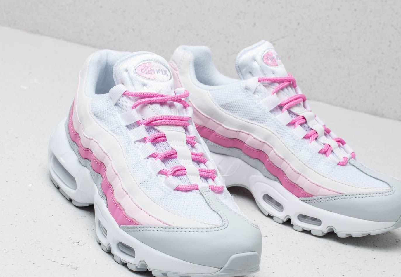6487c7deb4 Nike W Air Max 95 Essential White/ White-psychic Pink-pure Platinum ...