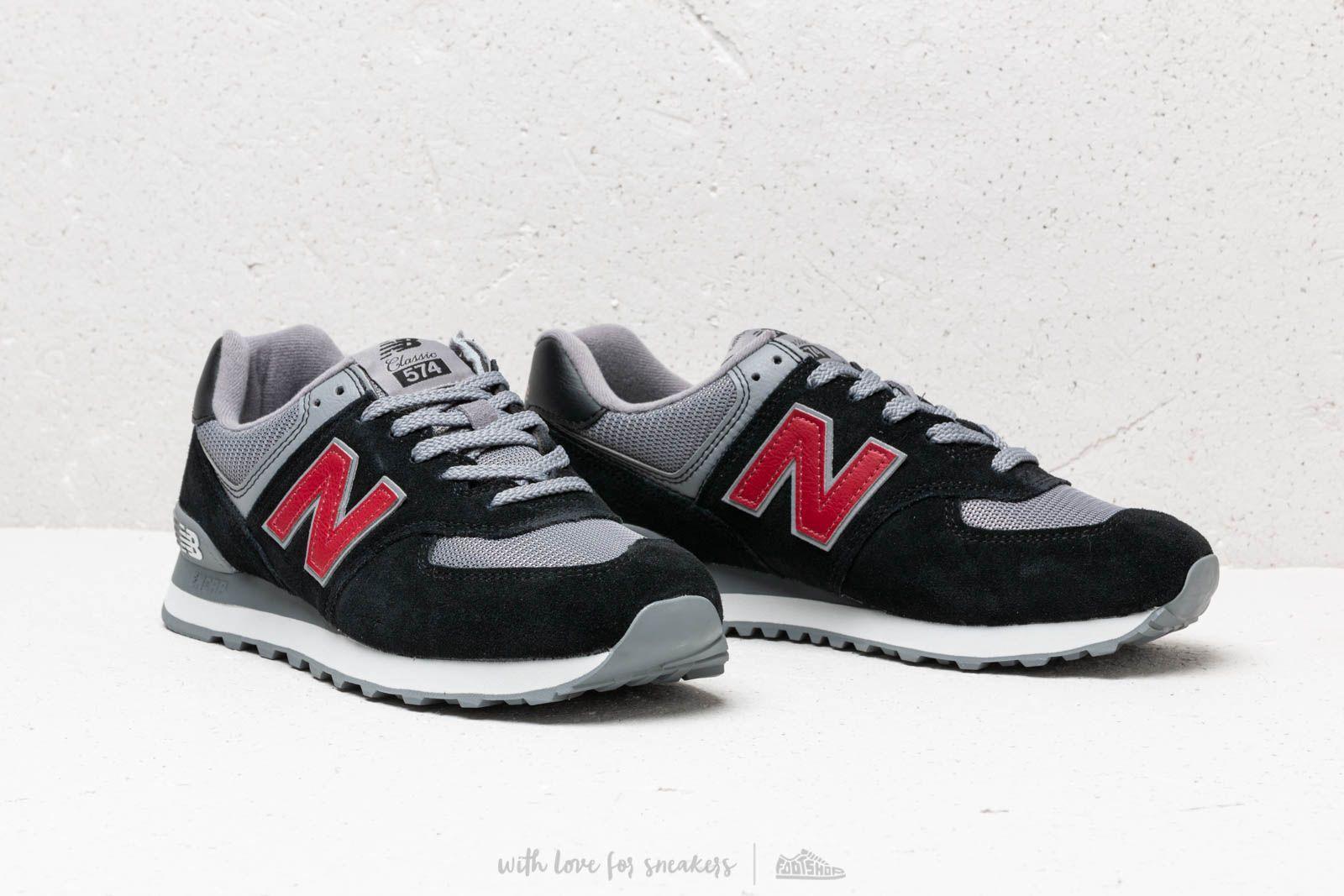 new balance 574 dark grey