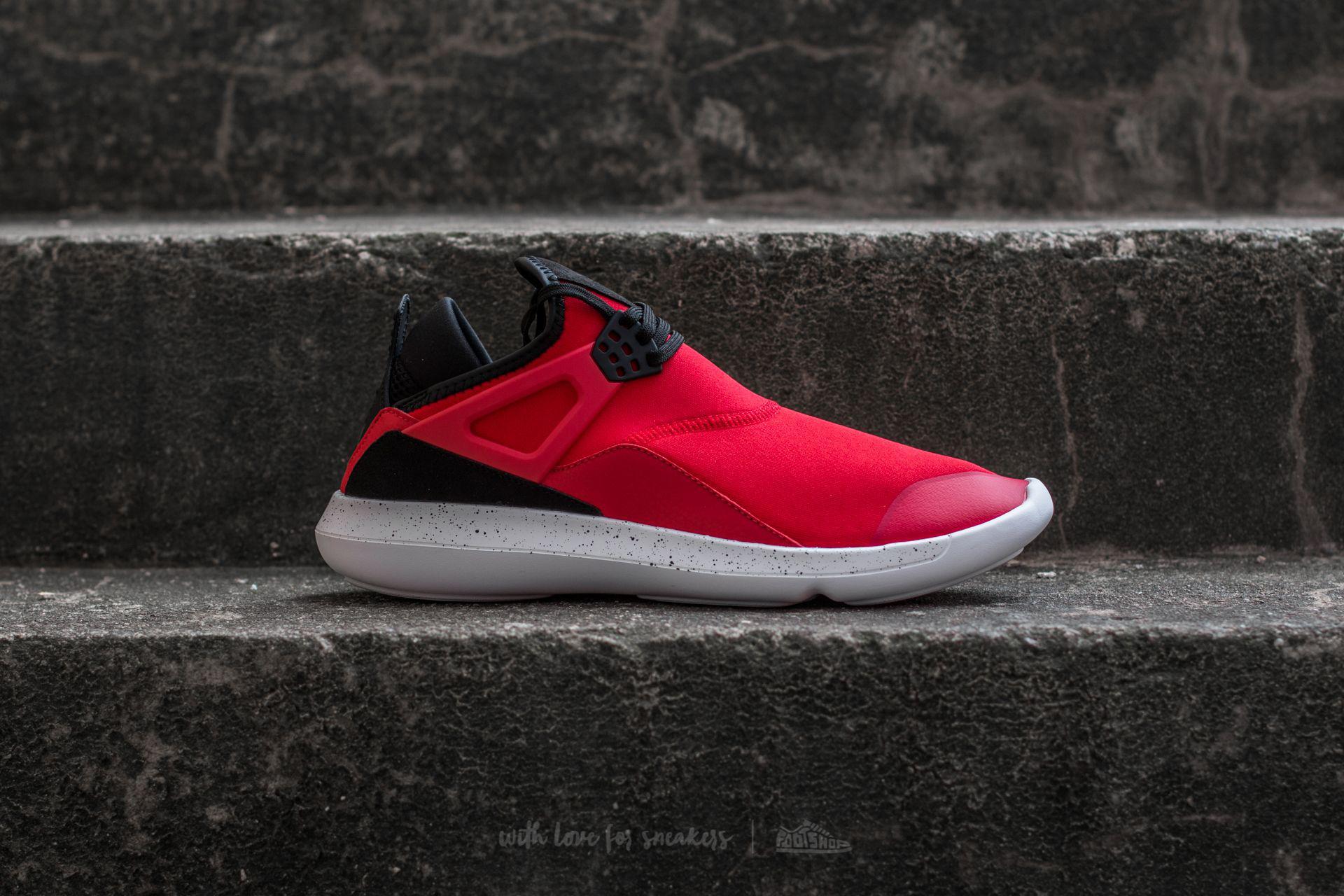 be15aeb046599 Air Jordan Fly 89  Lyst - Nike Fly ́89 University Red Black-white in Red  for Men . ...