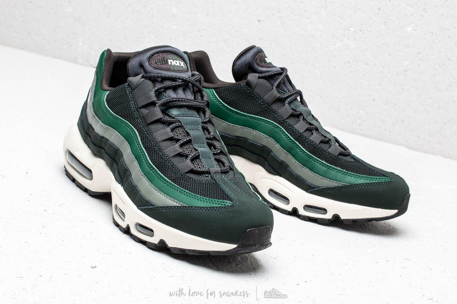 best deals on cheapest price where to buy Air Max 95 Essential Outdoor Green/ Sail-Fir-Vintage Lichen Cuir ...