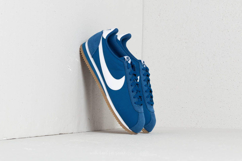 new style 5c0c3 19e38 ... discount code for nike. mens classic cortez nylon gym blue white gum  light brown 5a217 ...