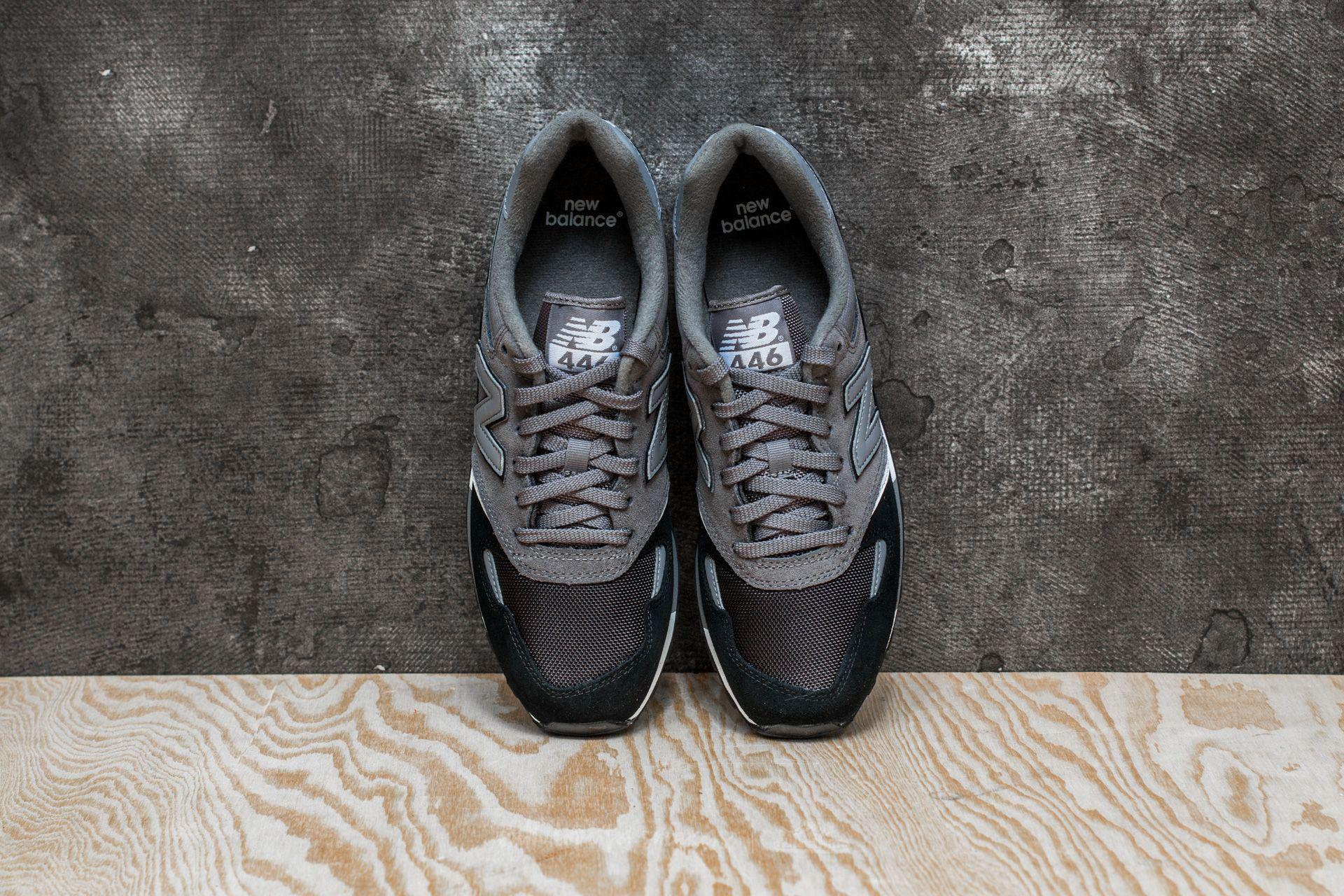 Rechazar Tiempo de día amanecer  New Balance Leather 446 Grey/ Black for Men - Lyst