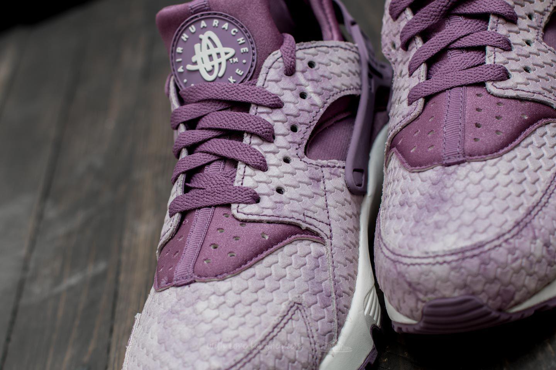 dbb528cb20d7d Lyst - Nike Wmns Air Huarache Run Premium Violet Dust  Violet Dust-sail