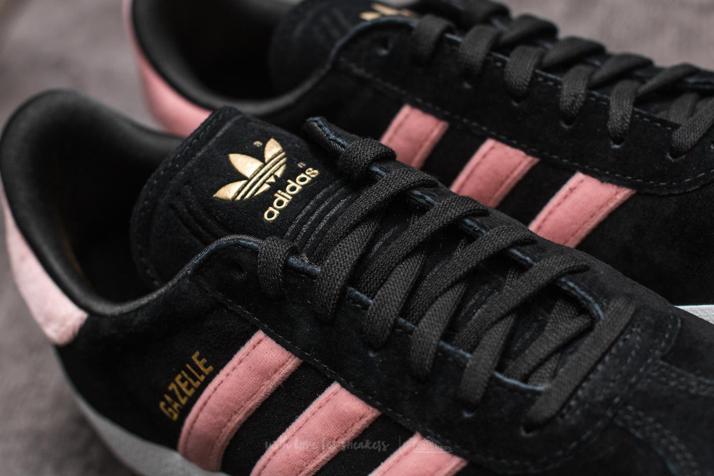 Adidas Originals Multicolor Adidas Gazelle W Core Black Raw Pink Gold Foil