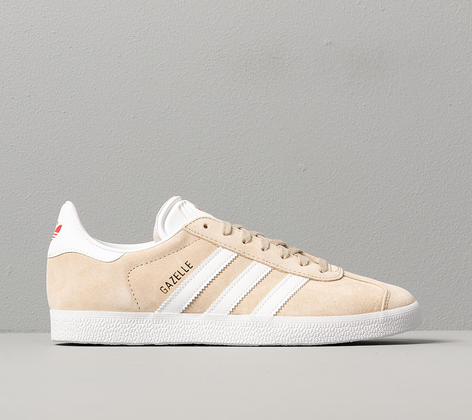 Adidas Gazelle W Savanna/ Ftw White/ Glow Red