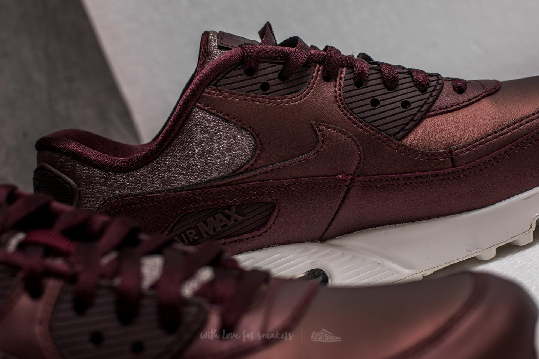 Nike Air Max 90 Premium Metallic Mahogany Ready For Fall