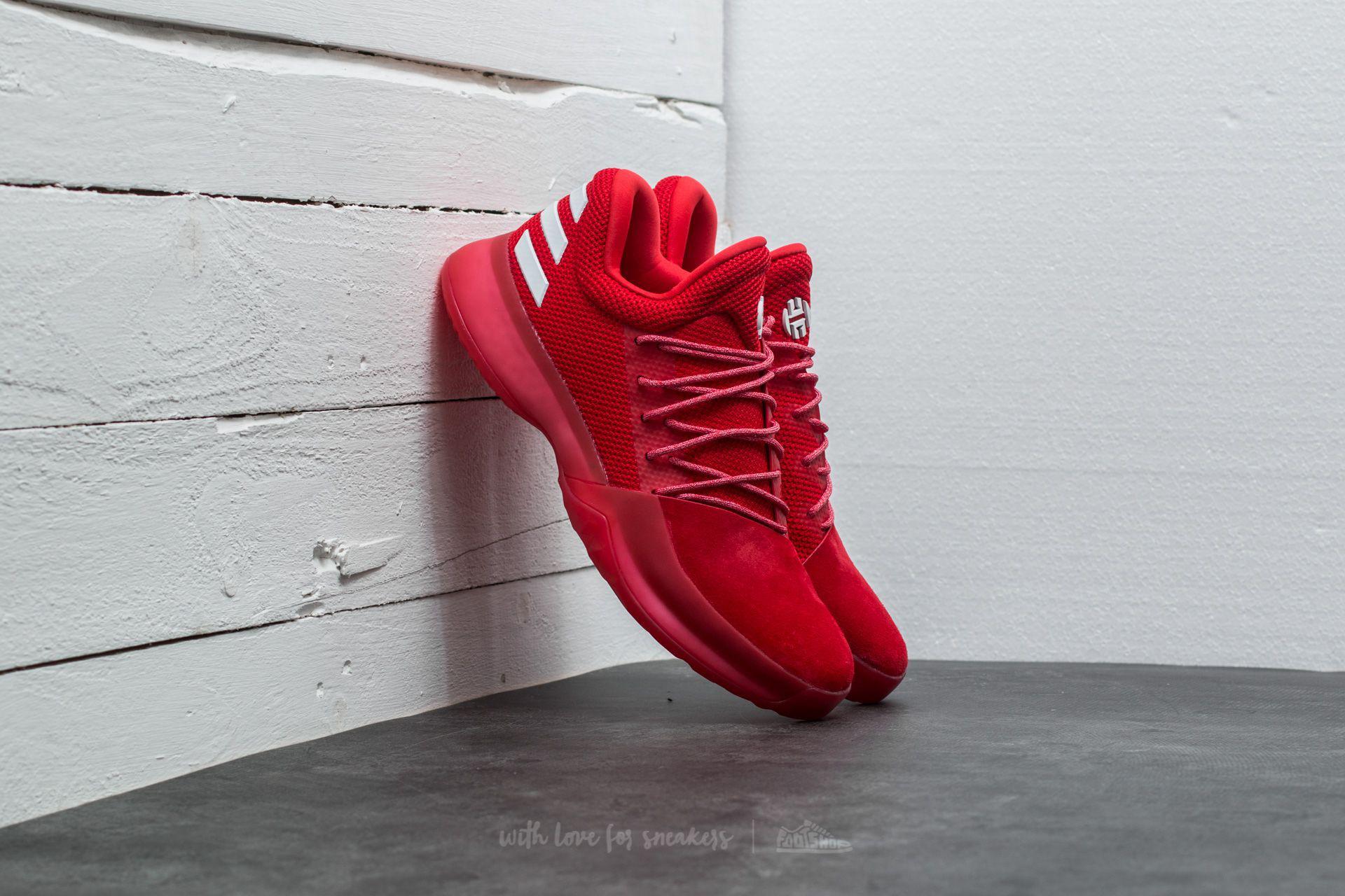 702b1f36bbe ... coupon code for lyst adidas originals adidas harden vol. 1 scarlet  light scarlet 1bdaa 5036a