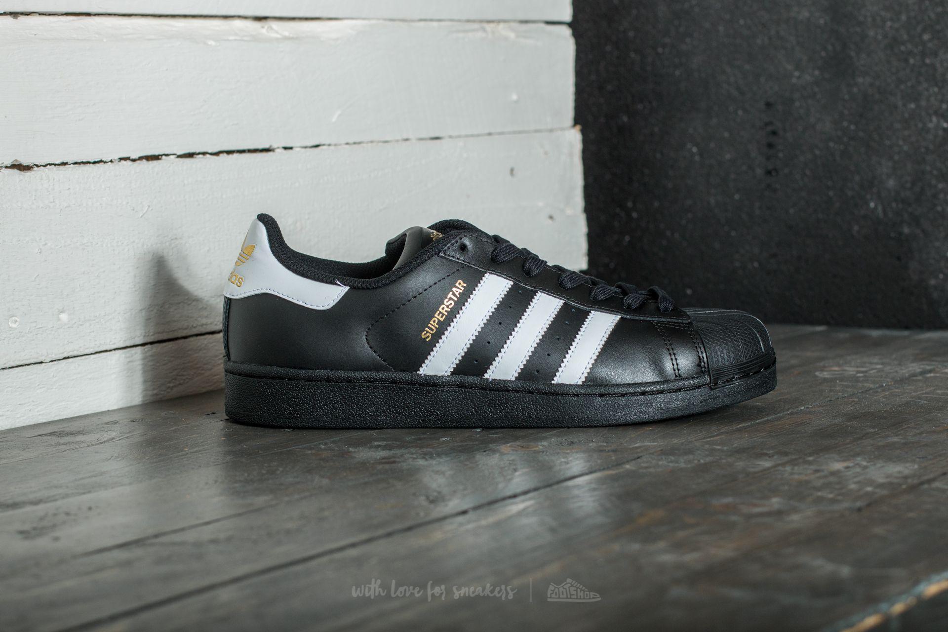 Lyst - adidas Originals Adidas Superstar Foundation Core Black  Ftw ... e1e27cd538447