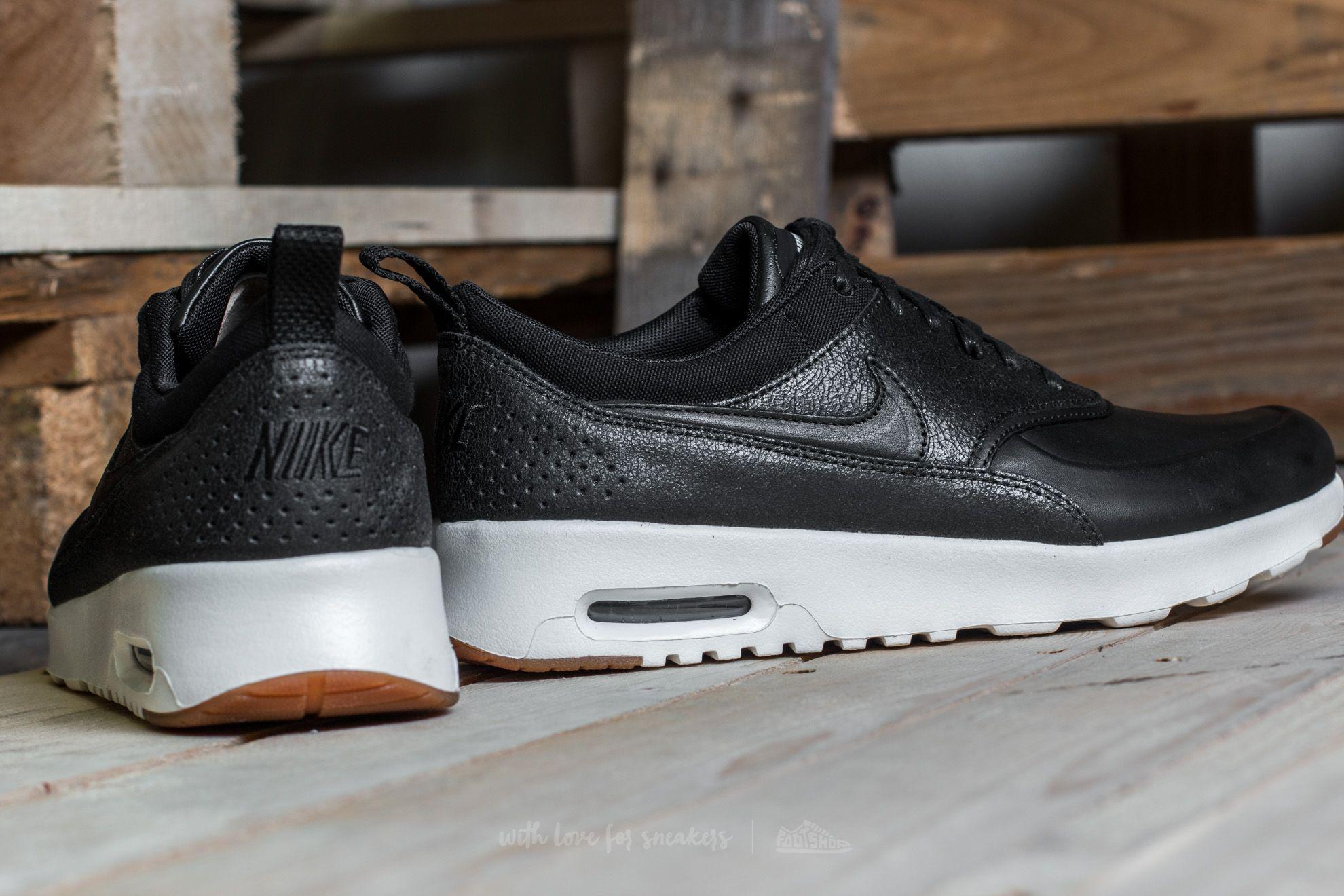 Nike Wmns Air Max Thea Premium Black Black sail gum Medium Brown for men