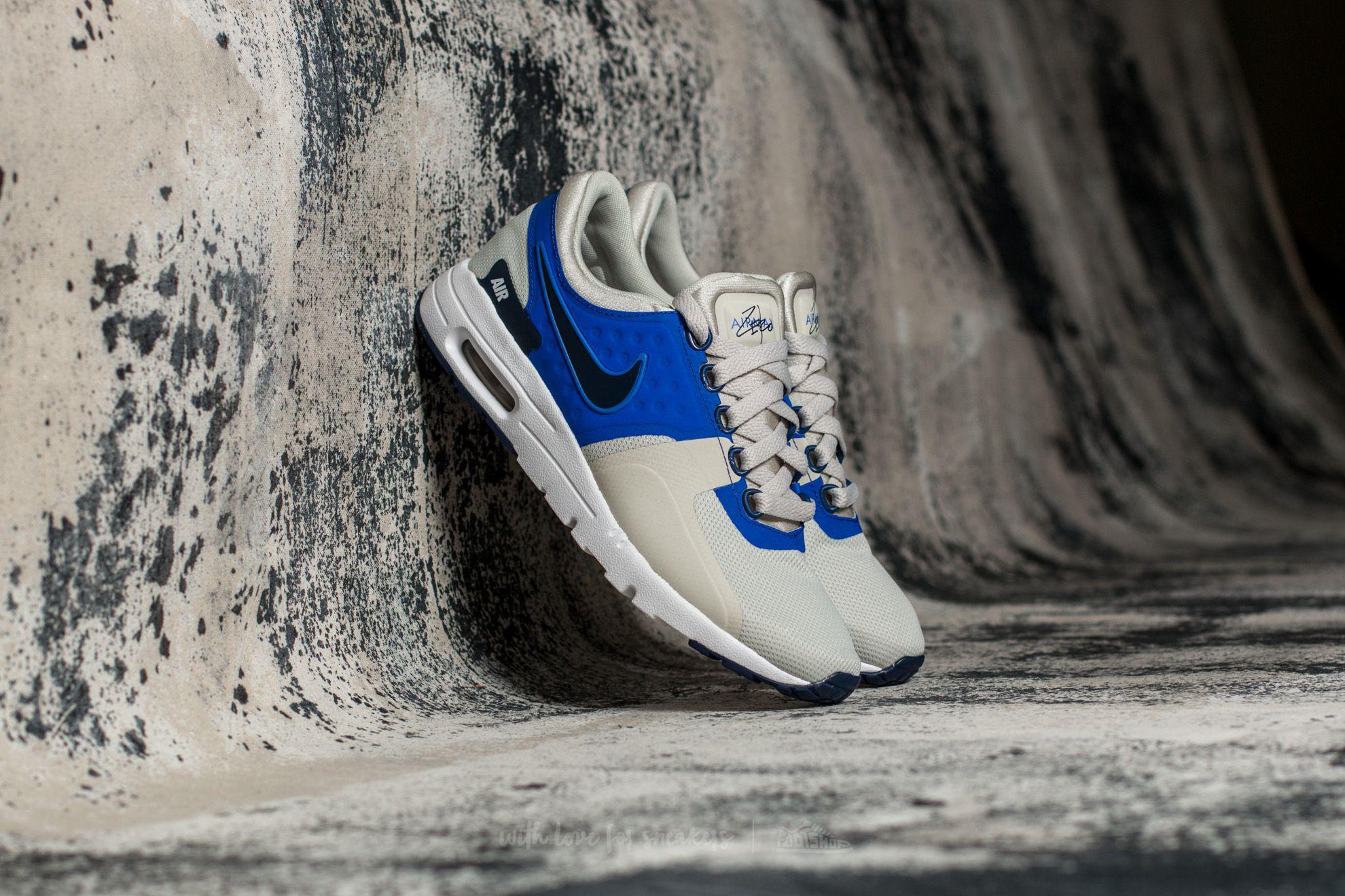 Lyst Nike W Air  Max Zero Light Bone  Air Binary blu in blu 4a1331