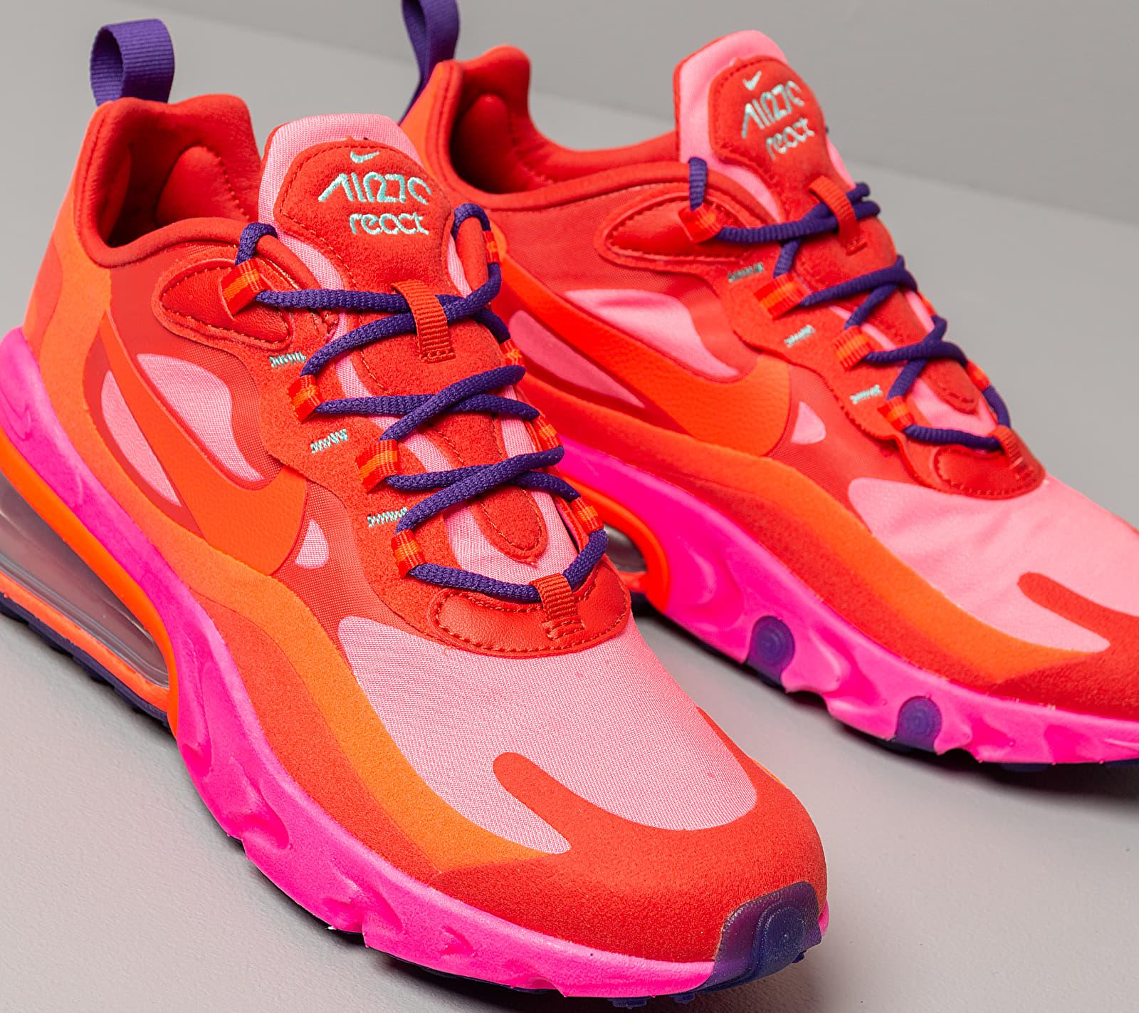 wmns air max 270 react mystic red