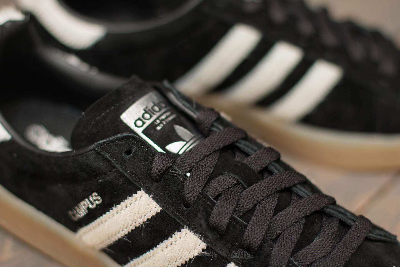 adidas campus core black vintage