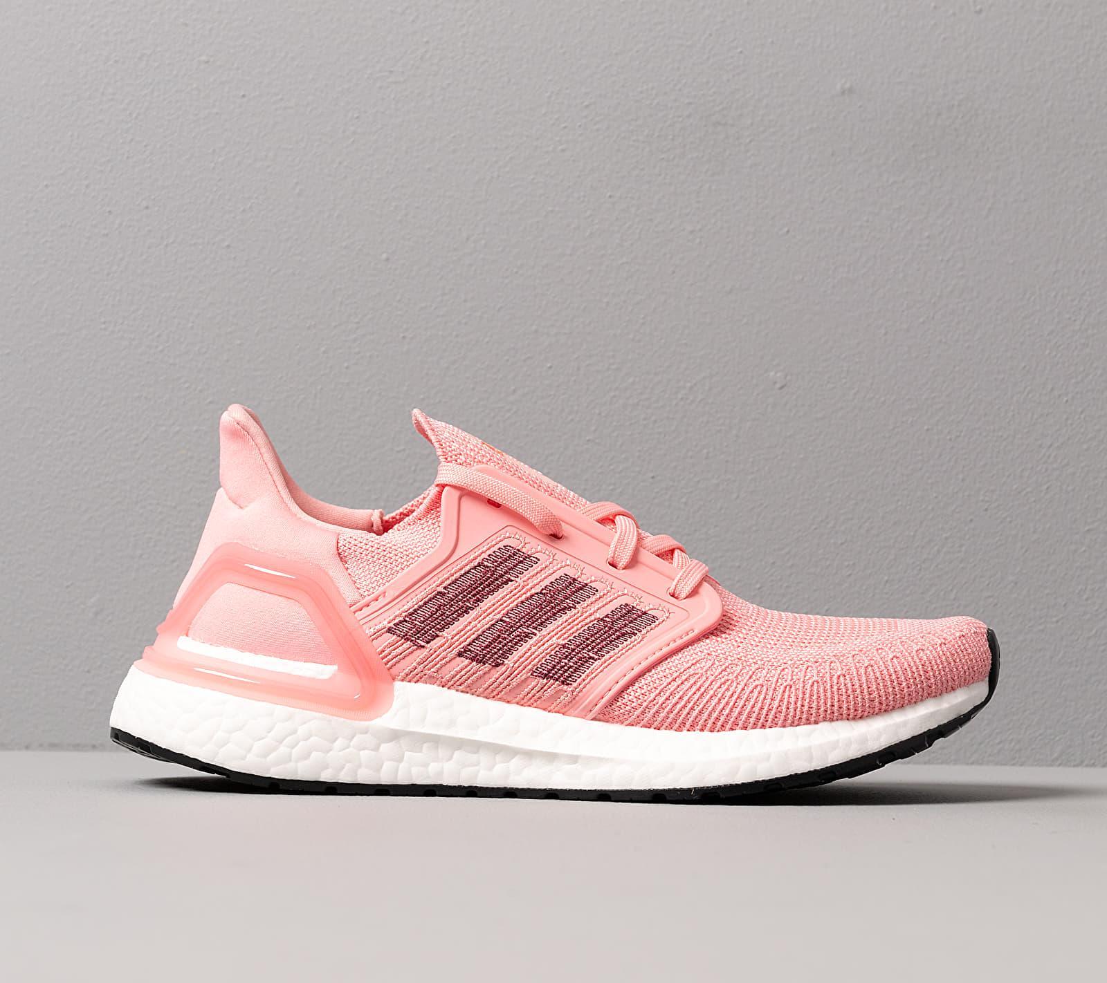 Adidas UltraBOOST 20 W Glow Pink/ Maroon/ Signature Coral adidas Originals