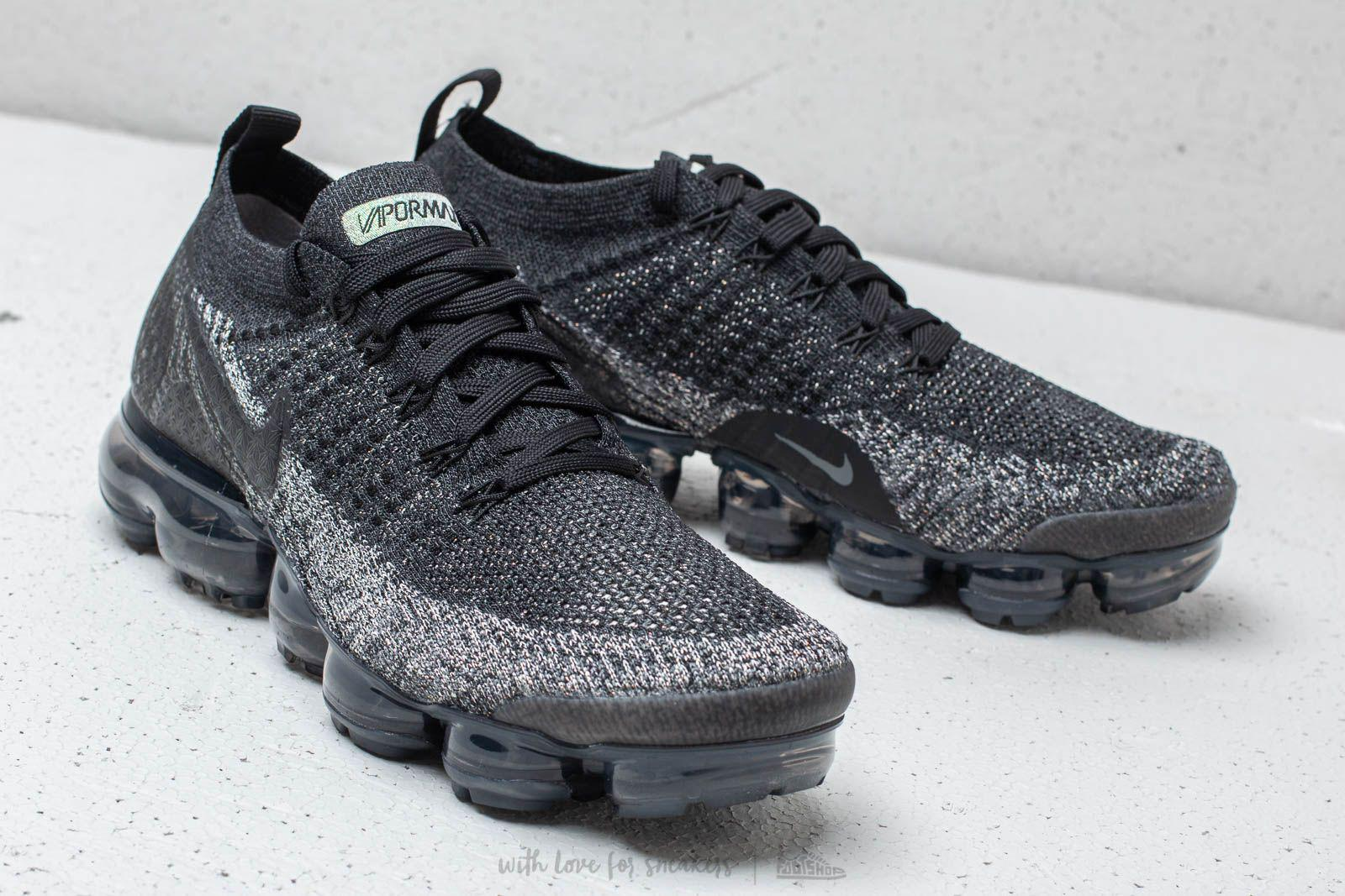 best cheap 70953 790ad Men's Air Vapormax Flyknit 2 Black/ Black-dark Gray