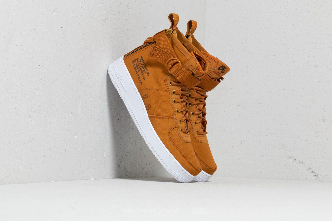 Lyst - Nike Sf Air Force 1 Mid Desert Ochre  Sequoia-white for Men 5ce9756883dd